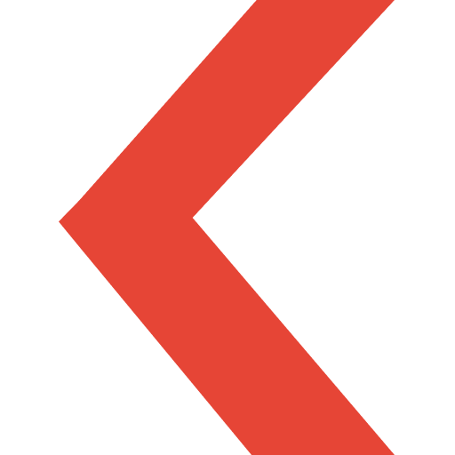 Red graphic arrow